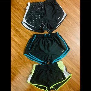 3 Pairs of Women's Nike Running Shorts!